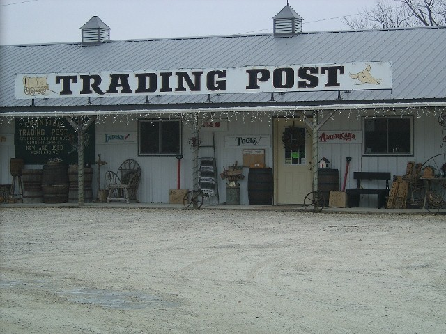 Frontier Trading Post that is located right next to Country Cabins. Great place to shop.