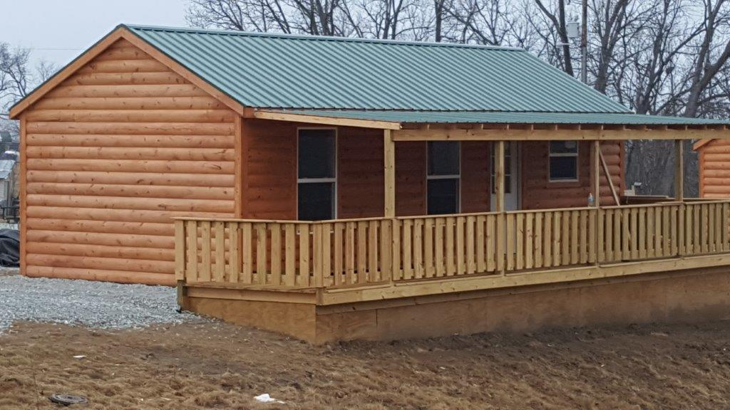 """""""A HOME FOR HEROES"""" at Country Cabins in Chariton Iowa"""